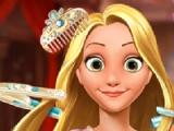Rapunzel princess. Fantasy hairstyle