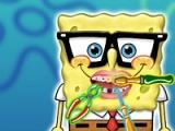 flash игра Spongebob. Dentist visit