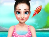 flash игра Anna yoga makeover