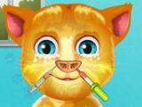 flash игра Talking Ginger. Nose doctor