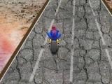 flash игра Spiderman Dangerous Ride