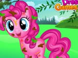 flash игра Pinkie Pie messy cleaning