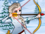 flash игра Elsa super archer