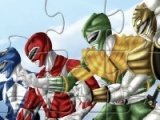 flash game Power Rangers Jigsaw