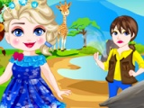 flash game Elsa safari slacking