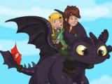 Cómo entrenar a tu dragón: accidente pantano