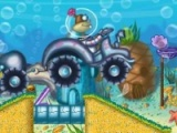flash game Sponge Bob tractor