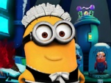 flash game Minion: Laboratorium reiniging