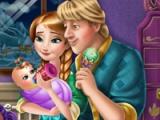Anna a Kristoff. Dětská výživa