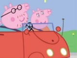 flash spill Peppa Car