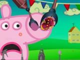 flash игра Peppa Pig. Nose doctor