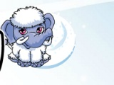 Abbey на снега чудовище