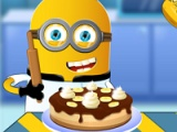 flash игра Minion cooking banana cake