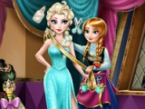 flash игра Anna tailor for Elsa