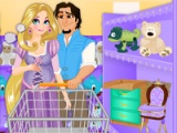 flash игра Rapunzel: Baby shower