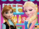 flash игра Elsa grocery store