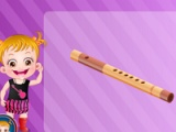 flash игра Baby Hazel musical melody