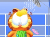 flash игра Messy Garfield