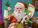 flash игра Santa. Hospital recovery