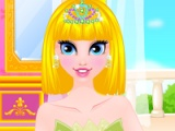 flash игра Cinderella's new hairstyle