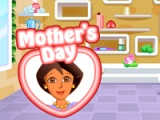 flash игра Dora hand spa for mom