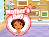 Dora spa de main pour maman