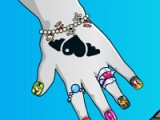 flash игра Baby-monster. Great manicure