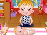 flash игра Baby Hazel Newborn Vaccination