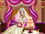 flash игра Elsa wedding honey room