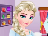 flash game Elsa. Greek chicken